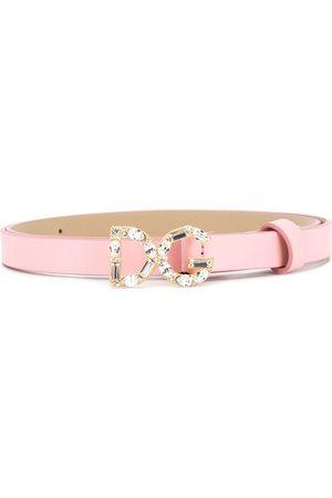 Dolce & Gabbana Girls Belts - DG buckle belt