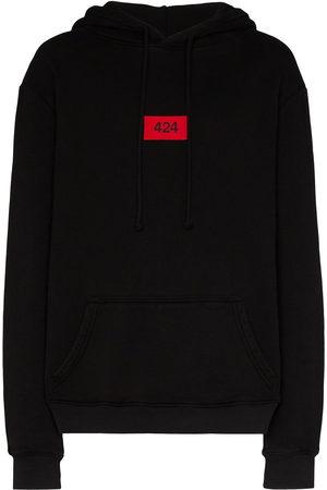 424 FAIRFAX Men Hoodies - Logo patch hoodie