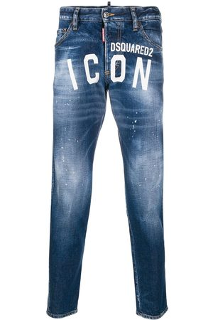 Dsquared2 ICON logo tapered jeans