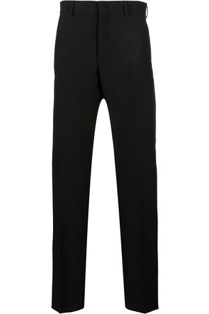 Fendi FF jacquard tailored trousers