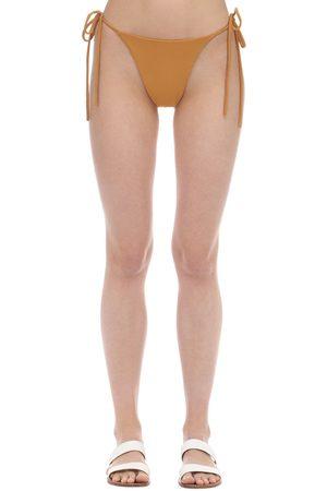 AEXAE Tyra Nylon & Lycra Bikini Bottoms