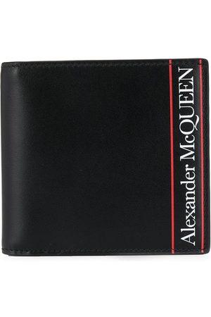 Alexander McQueen Men Wallets - Striped detailed logo wallet