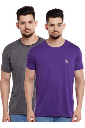 VIMAL JONNEY Men Pack of 2 T-shirts