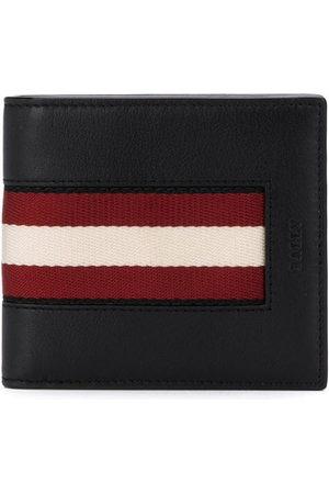 Bally Striped trim bifold wallet