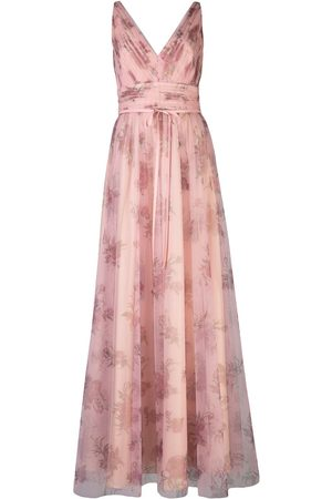 Marchesa Notte Women Evenings Dresses - Tulle floral bridesmaid gown
