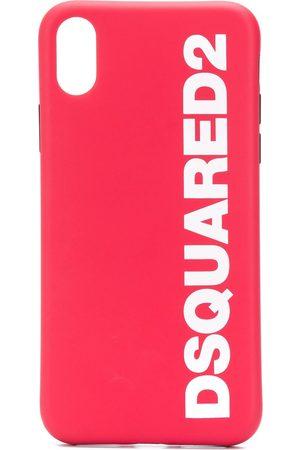 Dsquared2 Men Phone Cases - Logo iPhone X case