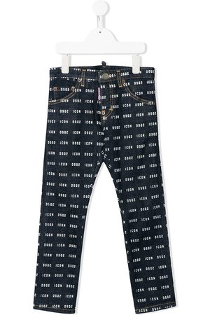 Dsquared2 Icon pattern jeans