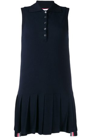 Thom Browne Tri-stripe applique tennis dress