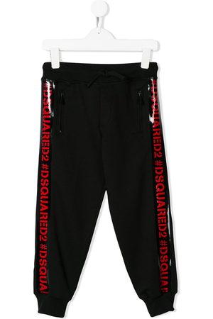 Dsquared2 Boys Trousers - Logo trim track pants