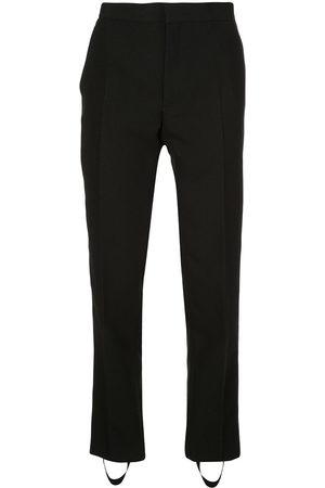 WARDROBE.NYC Release tapered stirrup trousers