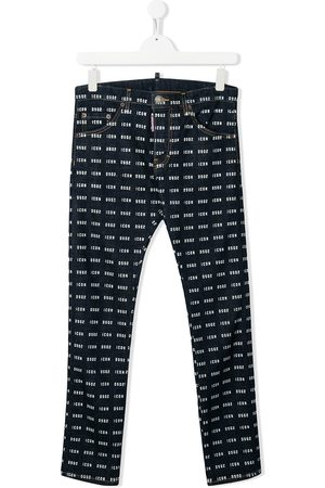 Dsquared2 Skinny - TEEN Icon patterned skinny jeans