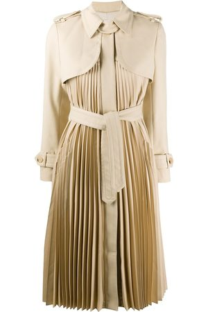 Sandro Vino pleated trench coat