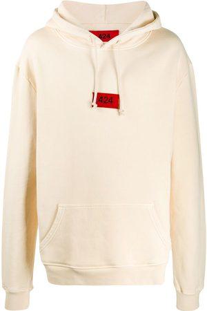 424 FAIRFAX Logo-embroidered hooded sweatshirt