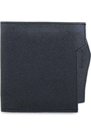 yelloe Men Black Solid Two Fold Wallet