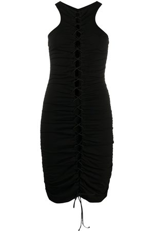 Unravel Project Cut-detail fitted dress