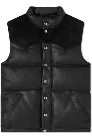 The Real McCoys The Real McCoy's Deerskin Down Vest