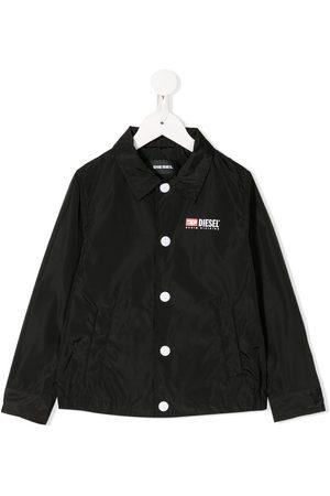 Diesel Kids Shirt-style rain jacket