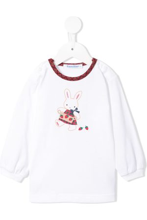 Familiar Bunny print T-shirt