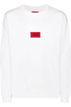 424 FAIRFAX Logo patch sweatshirt