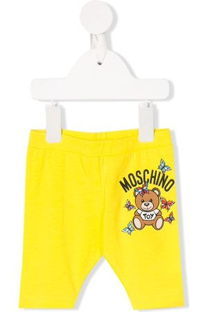 Moschino Slim Trousers - Logo slim-fit trousers