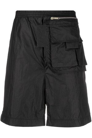 Les Hommes Elasticated track shorts