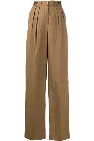 Jean Paul Gaultier 1990s high-waisted trousers