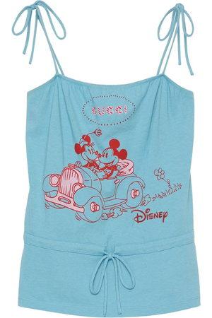Gucci X Disney print tank top