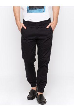 SPYKAR Men Black Slim Fit Solid Joggers