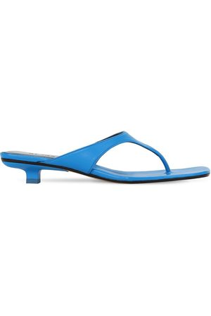 By Far Women Sandals - 30mm Jack Leather Thong Sandals