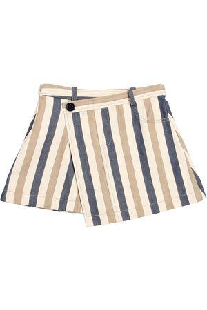 Oscar de la Renta Stretch Denim Skirt