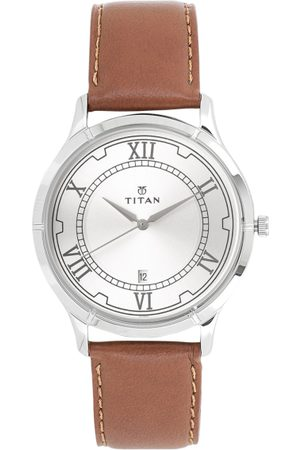 Titan Men Silver-Toned Analogue Watch 1775SL01