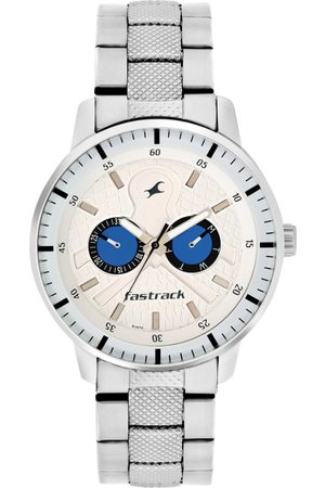 Fastrack Men White Analogue Watch 3211SM01