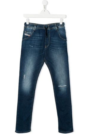 Diesel TEEN denim straight leg jeans