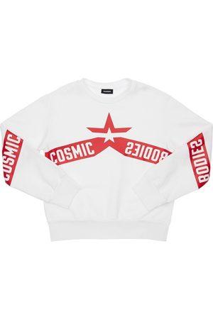 Diesel Printed Cotton Sweatshirt