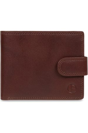 PURE LUXURIES LONDON Men Brown Solid Two Fold Wallet