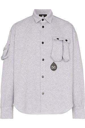 DUOltd Men Long sleeves - Button-up jersey shirt