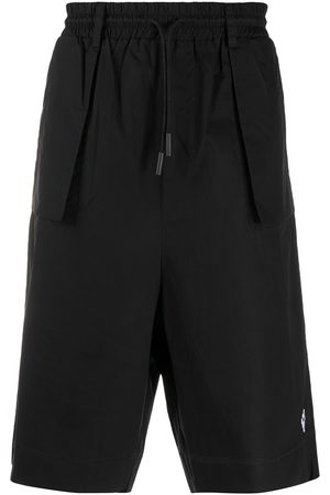 MARCELO BURLON Exposed-pocket bermuda shorts