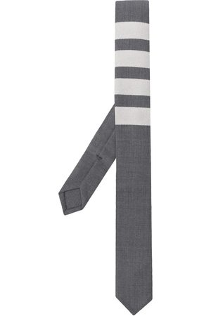 Thom Browne 4-bar plain weave tie