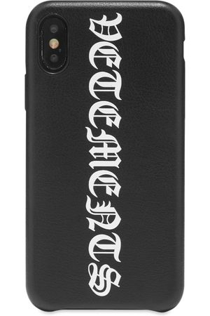 Vetements Vertical Logo iPhone Xs Case