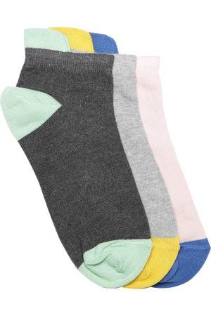 DressBerry Women Pack of 3 Ankle-Length Socks