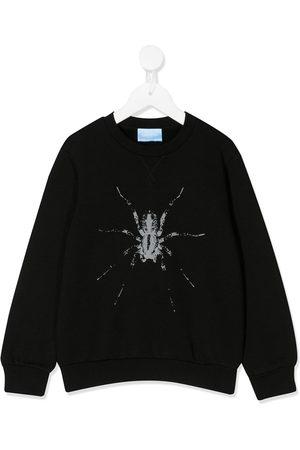 Lanvin Spider print sweater