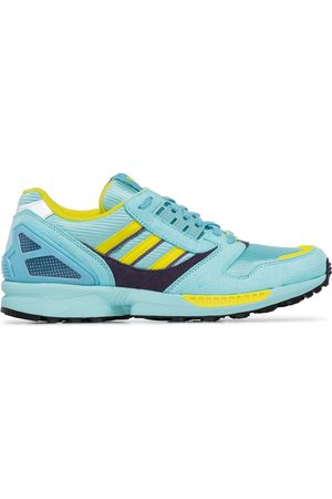 adidas ZX 8000 two-tone suede sneakers