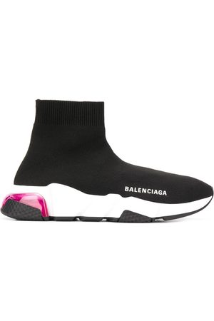 Balenciaga Speed LT clear sole sneakers