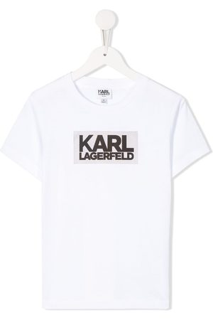 Karl Lagerfeld Boys Short Sleeve - Printed crew neck T-shirt