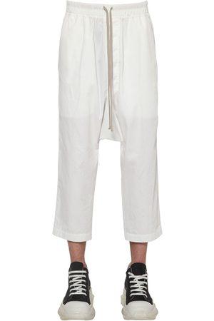 Rick Owens Drkshdw Cotton Ripstop Jogging Pants