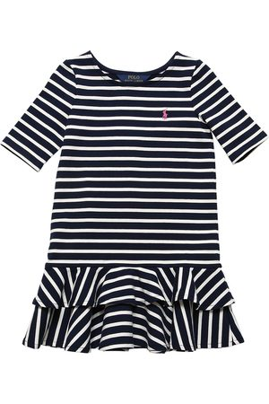 Ralph Lauren Striped Cotton Jersey Dress