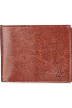 KARA Men Wallets - Men Tan Solid Two Fold Wallet