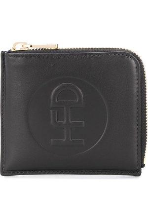 Honey Fucking Dijon Embossed logo zip-around wallet