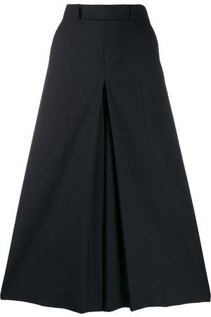 Ami High-waist divided skirt