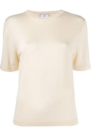 Ami Knitted short-sleeve T-shirt